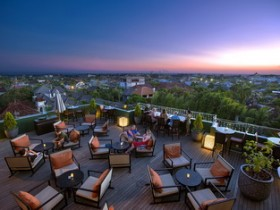 21. L Hotel Seminyak - Sunset at Luna Rooftop