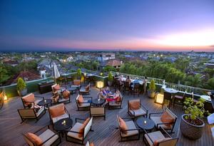 21. L Hotel Seminyak - Sunset at Luna Rooftop