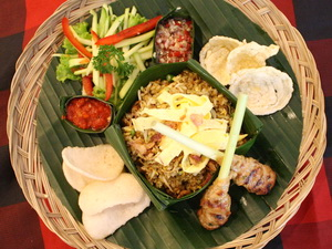 the grill - Nasi Goreng Kampoeng (main course light lunch asian)