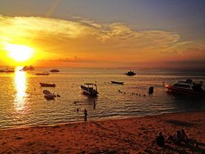sunset-at-lembongan