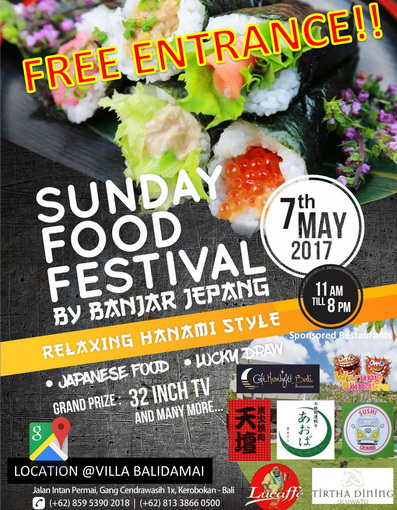 Sunday food festival ad web