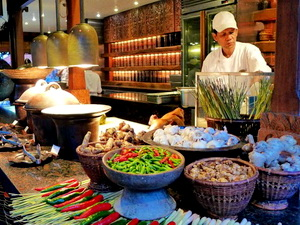 grand hyatt nusa dua buffet
